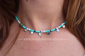 KETTING 'SURF WITH ME' | TURQUOISE