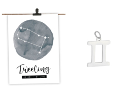 STERRENBEELD 'KETTING' | TWEELING