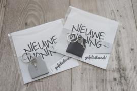 SLEUTELHANGER 'HUIS' | NIEUWE WONING