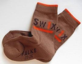 Figure Swix - nutmeg - Falke kousen met comfortzool, maat 31-34