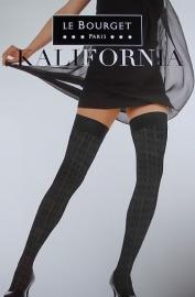 Kalifornia - zwarte fantasiekousen, stay-ups Le Bourget