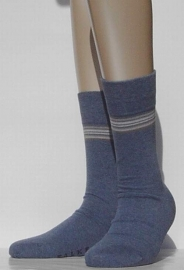 Top Stripe - jeans - Falke kousen zonder elastiek, speciaal voor de bloedsomloop, maat 41-42 (heren)