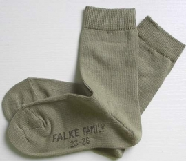 Family - khaki - Falke kousen, maat 31-34