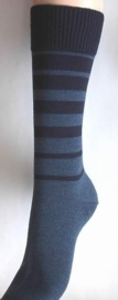 Two Colour - d.blue - dikke winterkousen Falke, maat 43-46