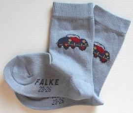 Car - blue - fantasiesokken Falke, maat 27-30