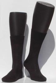 Rhombe - black - ultrafijne Falke kousen met fijn ruitpatroon, maat 45-46