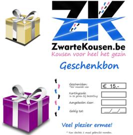 Geschenkbon / Cadeaubon 15€