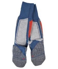 Thermolite skiing - blauw – Falke skikousen, maat 42-43