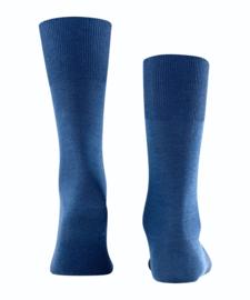 Airport - Royal Blue - klassieke Falke kousen voor heren, maat 43-44
