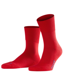 Run - fire - rode Falke kousen met pluchen comfortzool, maat 46-48