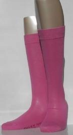 Family Knee - azalea - katoenen kniekousen Falke, maat 39-42 (dames en tieners)