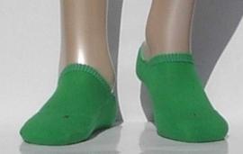 Sneaker Run Invisible - green - Falke sneaker sokjes met dubbele zool, maat 44-45