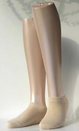 Sneaker Family Short - cream - beige, korte Falke sokjes, maat 35-38