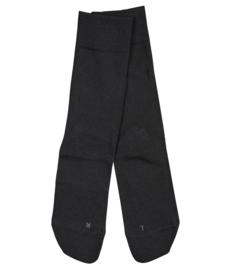 London - black - zwarte Falke kousen zonder elastiek, speciaal voor de bloedsomloop, maat 39-42 (dames)