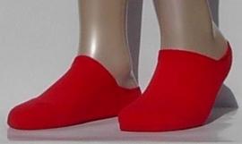 Sneaker Run Invisible - red - Falke sneaker sokjes met dubbele zool, maat 44-45