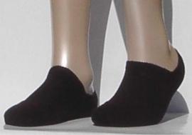 Sneaker Run Invisible - black - Falke sneaker sokjes met dubbele zool, maat 46-48