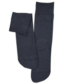 Berlin - d.navy - donkerblauwe Falke kousen zonder elastiek, speciaal voor de bloedsomloop, maat 39-42 (dames)