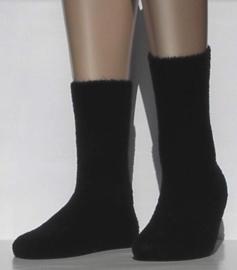 Tender - black - zwarte, superzachte en warme kousen Falke, maat 35-38