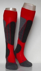 Thermolite skiing - red - Falke skikousen, maat 44-45