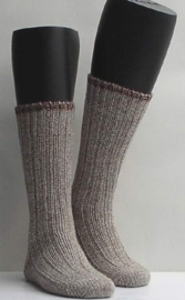 Boot sock - nutmeg - dikke, warme kousen Falke, maat 39-42 (dames en heren)