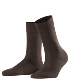 London - brown - bruine Falke kousen zonder elastiek, speciaal voor de bloedsomloop, maat 39-42 (dames)
