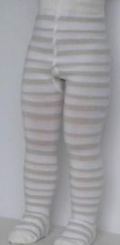 Baby Stripe off-white - broekkousen - Falke