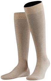 Family Knee - sand - katoenen kniekousen Falke, maat 27-30