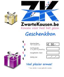 Geschenkbon / Cadeaubon 50€