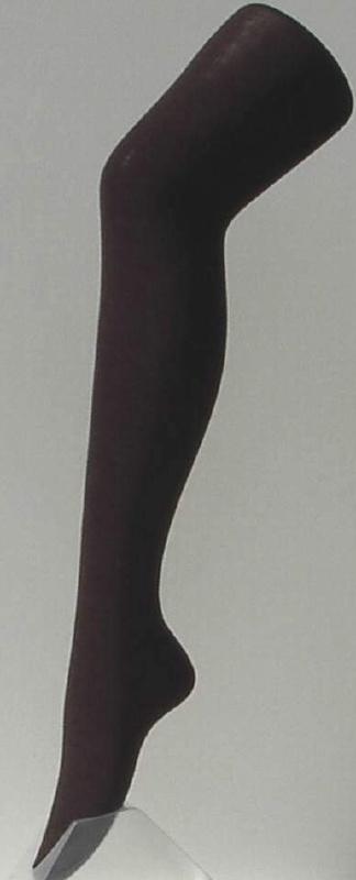 Wool Cotton - bruine, wollen broekkousen, panty's Le Bourget