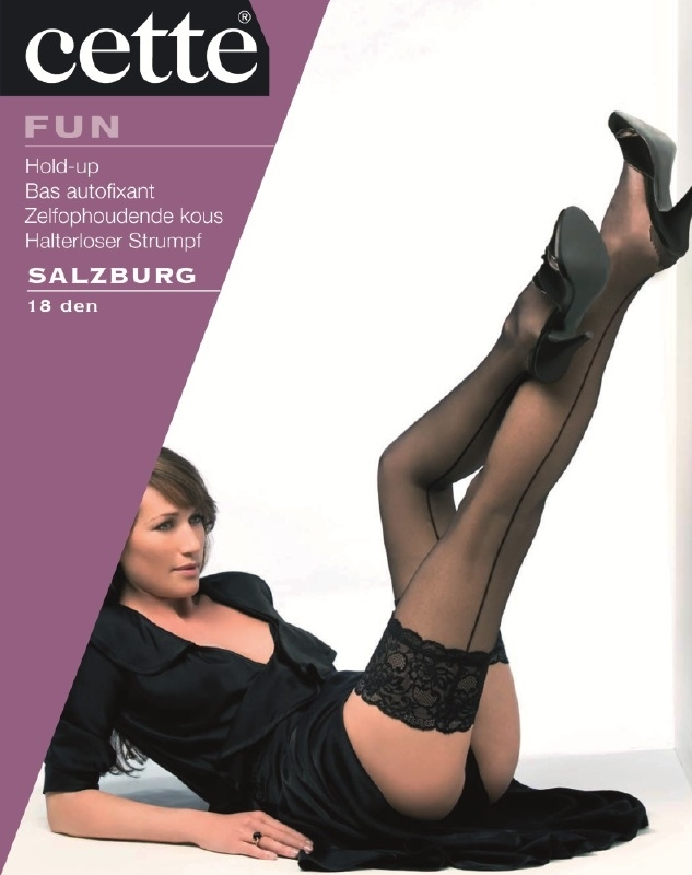 Salzburg - Stay-ups met naad - Cette