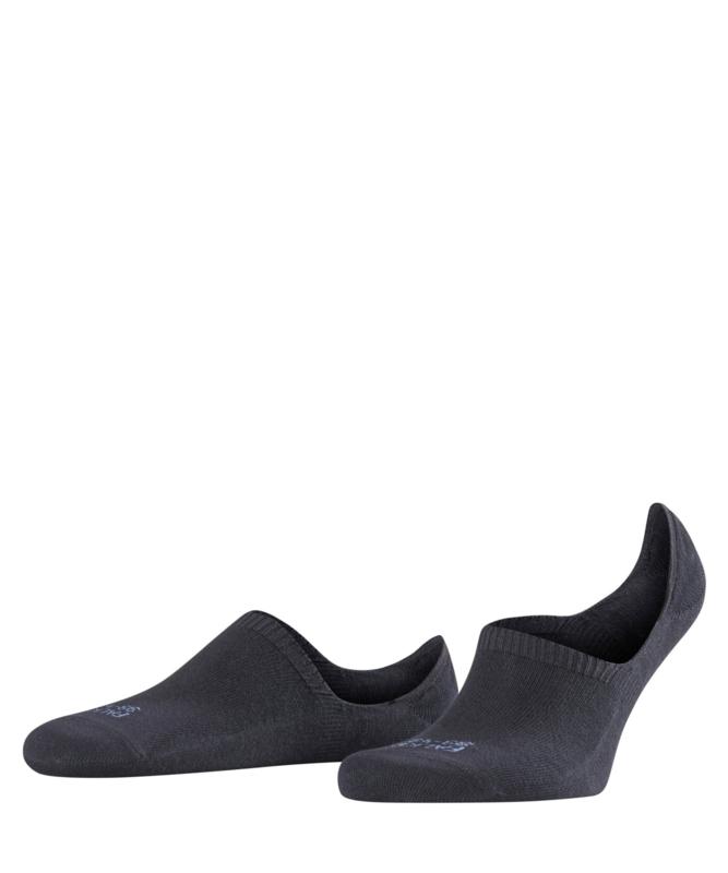 Family invisible sneaker - black - Falke sneakers voor heren, maat 43-46