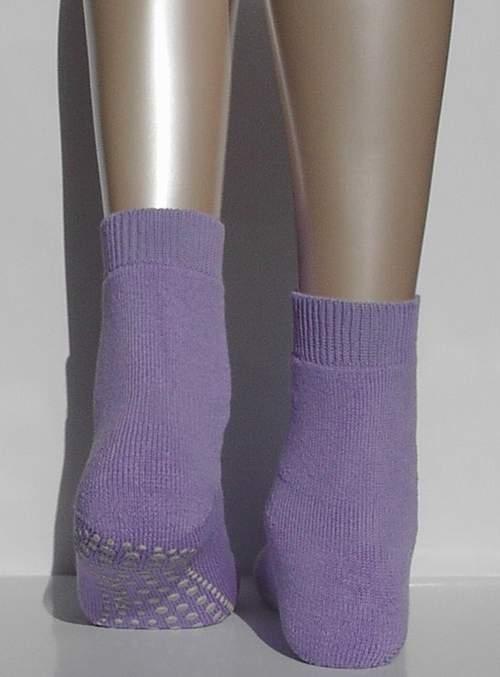 Catspads, antislip sokken - lavendar - Falke kousen, maat 23-26