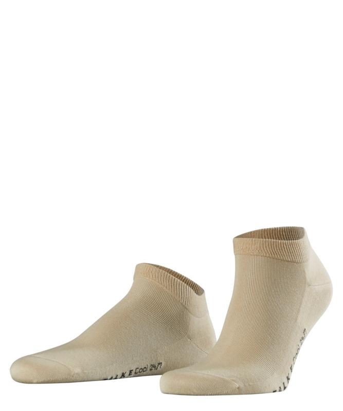 Cool 24/7 Short Sneaker - Sand - zand Falke sneakers, maat 41-42 (heren)