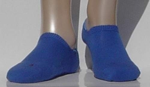 Sneaker Run Invisible - blue - Falke sneaker sokjes met dubbele zool, maat 44-45