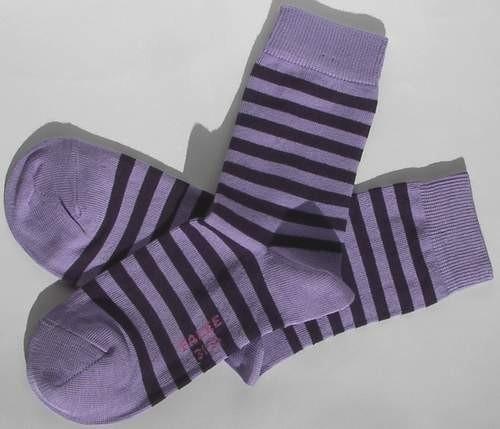 Small Stripe - lavendar - Falke kousen, maat 19-22