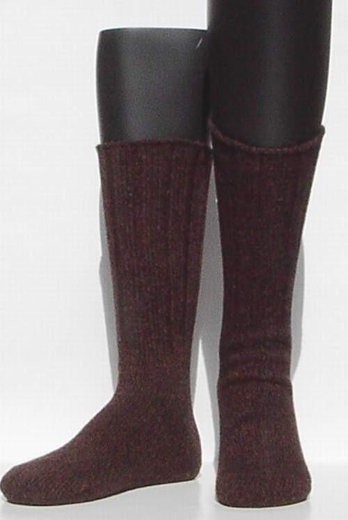 Bootsocks - d.brown - dikke wintersokken Falke, maat 43-46