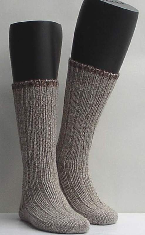 Boot sock - nutmeg - dikke, warme kousen Falke, maat 35-38