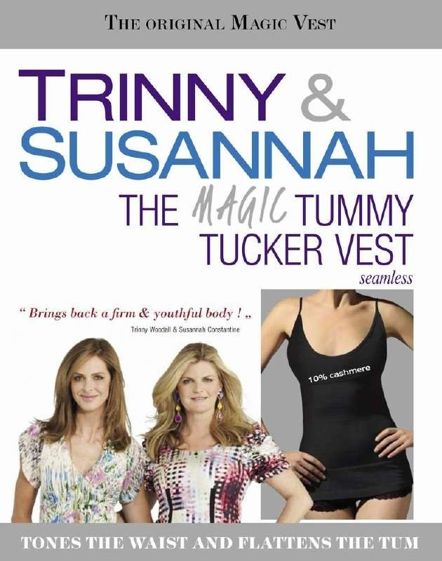The Magic Tummy Tucker Vest - Trinny & Susannah