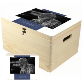 Herinneringskist met liggende foto - memory box om herinneringen in te bewaren