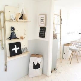 Do it yourself: wandrek voor de babykamer of kinderkamer