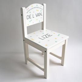 Kinderstoel met naam | Naamstoeltje