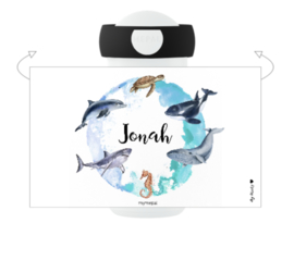 Mepal Drinkbeker met naam | Zeedieren
