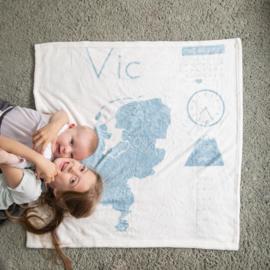 Het geboortedekentje van Vic