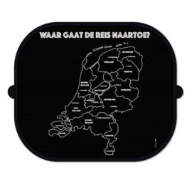 Zonnescherm auto | zonbescherming onderweg | Nederland