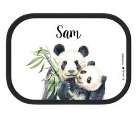 Mepal Broodtrommel met naam | Panda