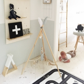 Do it yourself: Tipi babygym