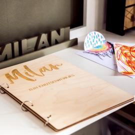 Knutsel bewaarboek van Milan