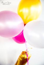 De organisatie van Lize's ONE of a kind birthday party