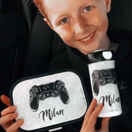 Mepal broodtrommel met naam voor gamer Milan