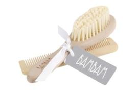 Houten borstel en kam | BamBam